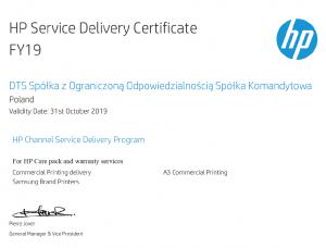 Certyfikat 2019